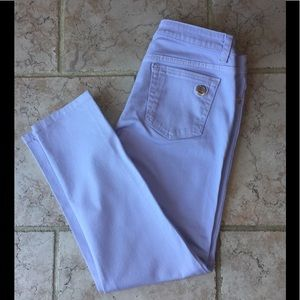 ⭐️New⭐️ MICHAEL KORS Lavender Izzy Cropped Jeans